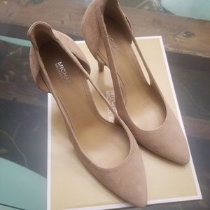 NITB 7 Michael Kors Leather suede CASEI pumps MK